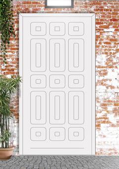 porta blindata-disegno classico 8