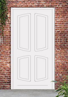 porta blindata-disegno classico 23
