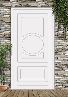 porta blindata-disegno classico 30