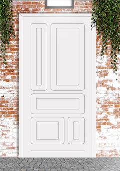 porta blindata-disegno classico 36