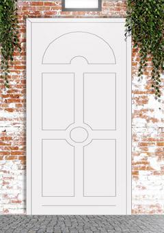 porta blindata-disegno classico 37