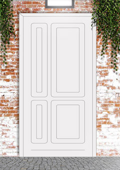 porta blindata-disegno classico 40