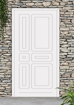porta blindata-disegno classico 41