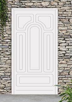 porta blindata-disegno classico 43