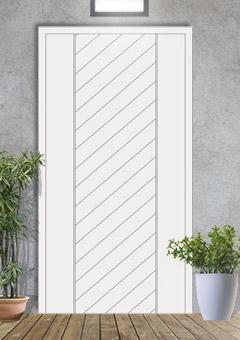 porta blindata-disegno a doghe 1