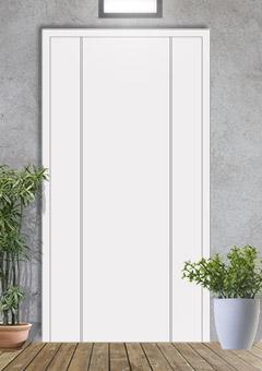 porta blindata-disegno a doghe 2