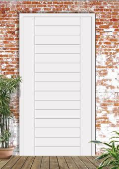 porta blindata-disegno a doghe 7
