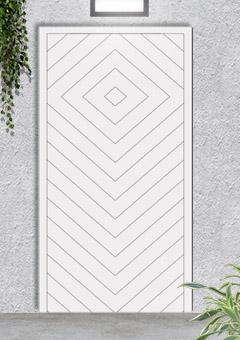 porta blindata-disegno a doghe 20