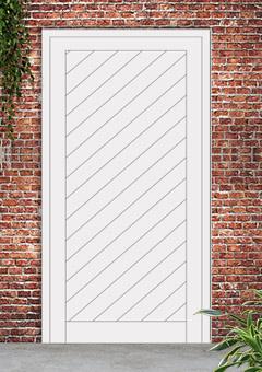 porta blindata-disegno a doghe 22