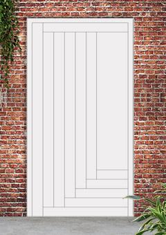 porta blindata-disegno a doghe 24