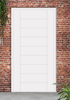 porta blindata-disegno a doghe 26